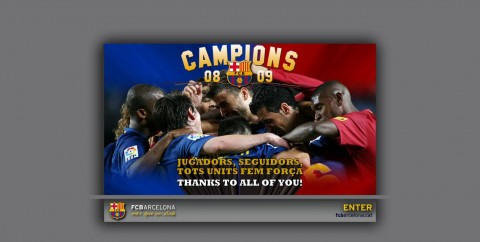 Barcelona belépő oldal