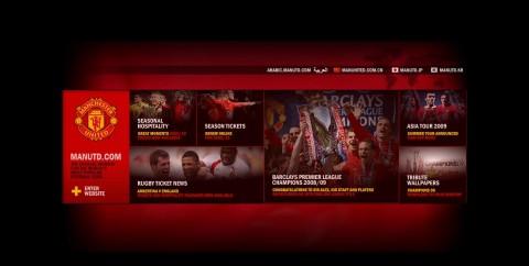 Manchester United belépő oldal