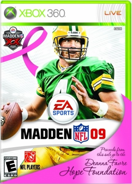 EA Sports Madden NFL 09 pink edition