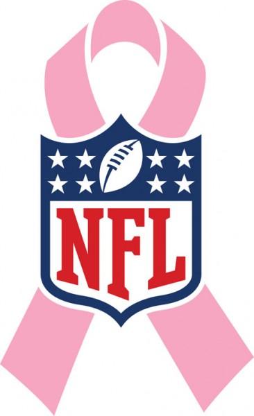 NFL rózsaszín szalag