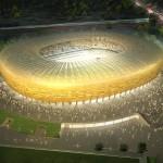 A PGE Arena Gdansk látványterve