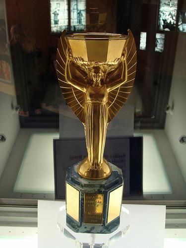 A világbajnoki trófea