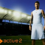 David Beckham az EA SPORTS Active 2 reklámarca