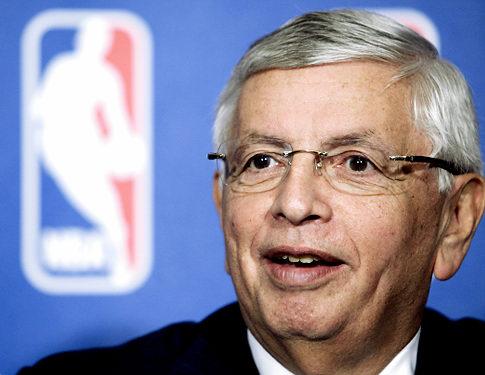 David Stern, az NBA komiszárja