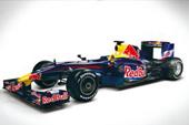 Red Bull Forma 1 versenyautó
