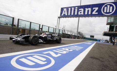 Allianz Forma 1 megjelenés