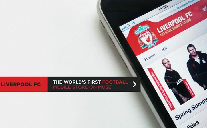 A Liverpoolé az első mobilra optimalizált online shop
