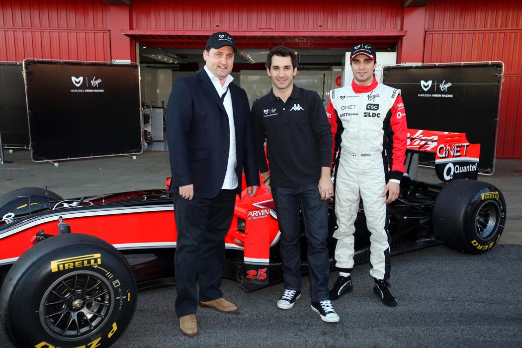 Svájci egyetemmel kötött szerződést a Marussia Virgin Racing F1-csapat