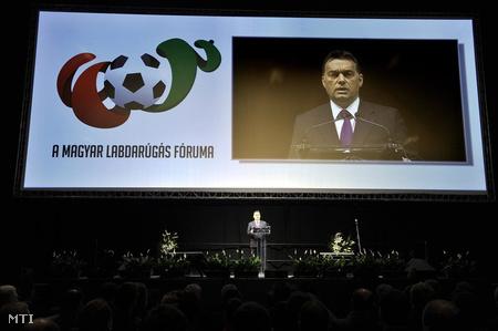 Orbán Viktor az MLSZ Fórumon