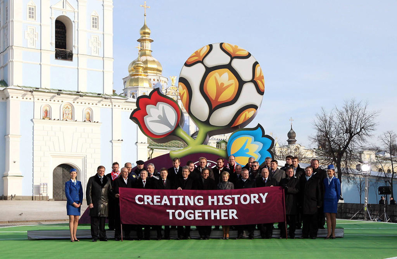 Saját arculatot kapnak az EURO 2012 műsorai