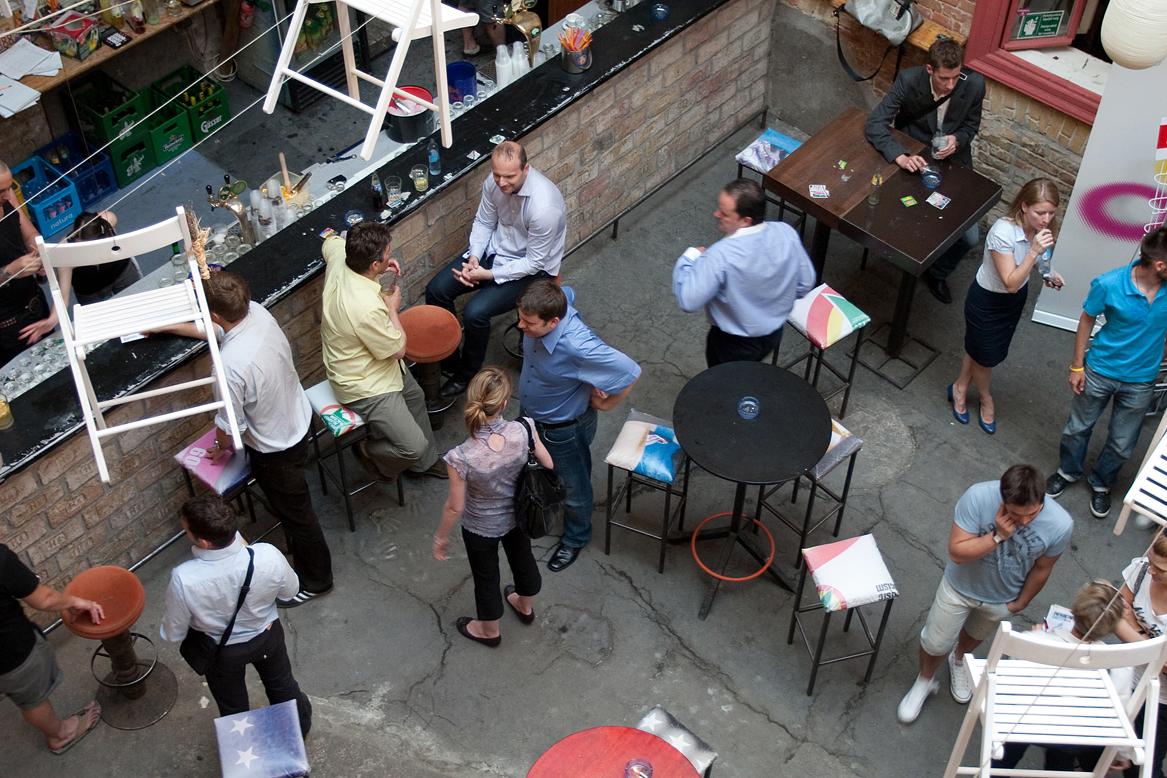 Az első Sportmarketing Újragondolva Meetup a Fogasházban