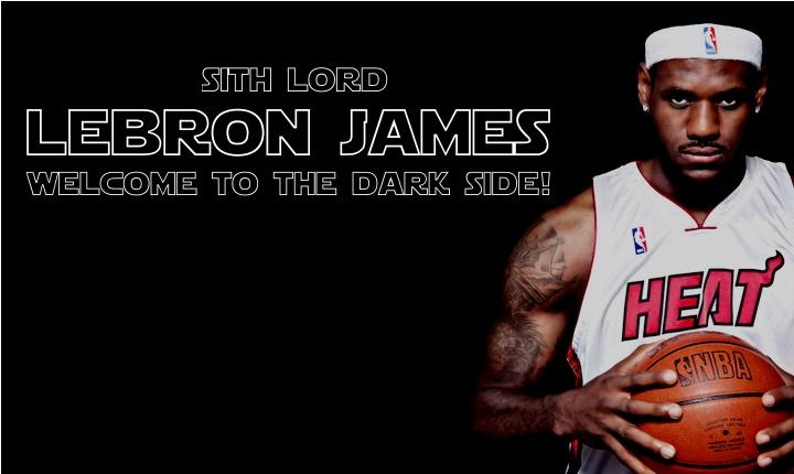 LeBron James a sötét oldalon?