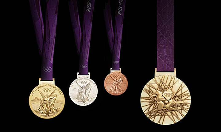 Rekordméretűek a londoni olimpiai érmek