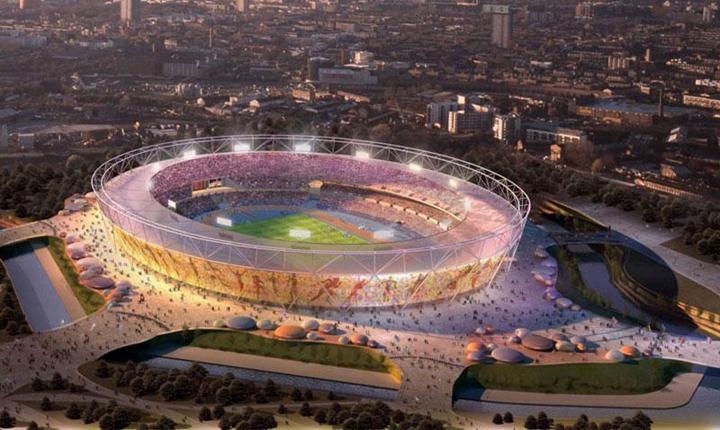 Megszépül a londoni Olimpiai Stadion