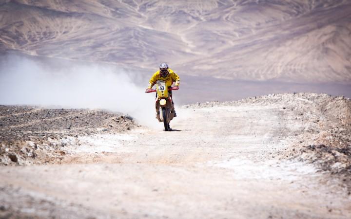 A Facebook segítségével sikerült az olasz versenyző Dakar indulása