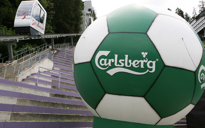 Lelátóavatás Carlsberg módra