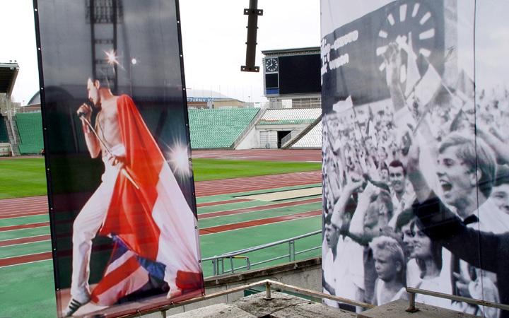 Történeti kiállítás a Puskás Ferenc Stadionban