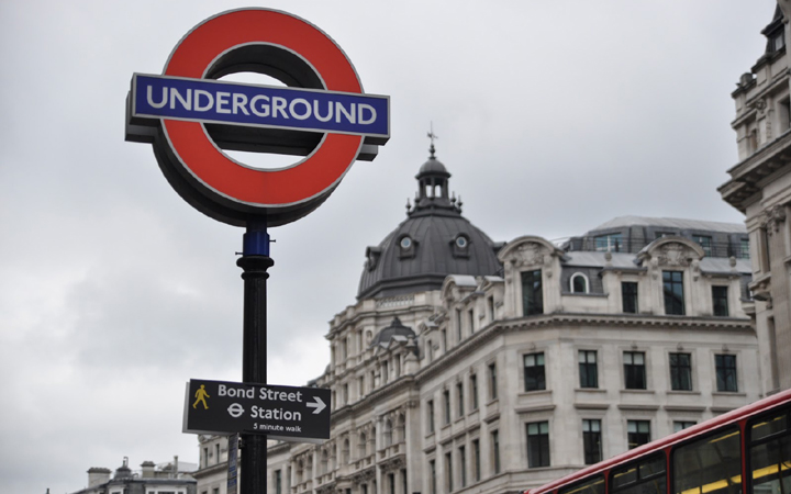 Puskás, Darnyi és Egerszegi metrómegálló Londonban