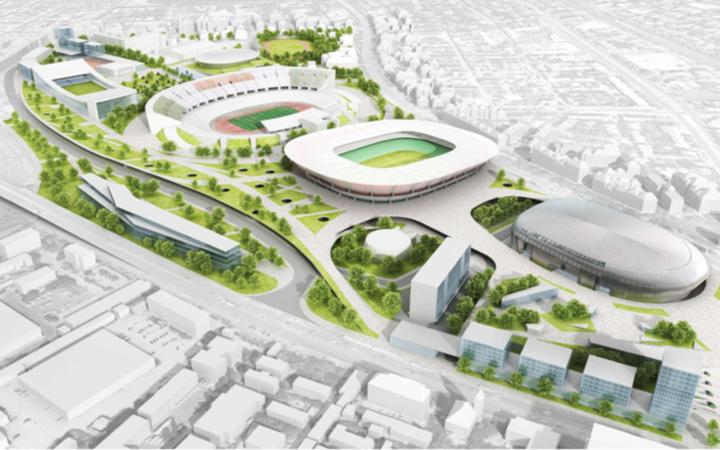 Sport- és szabadidőpark épül a Puskás Stadion köré