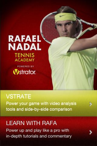 Rafael Nadal Tennis Academy alkalmazás