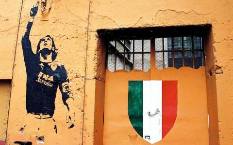 AS Roma graffiti