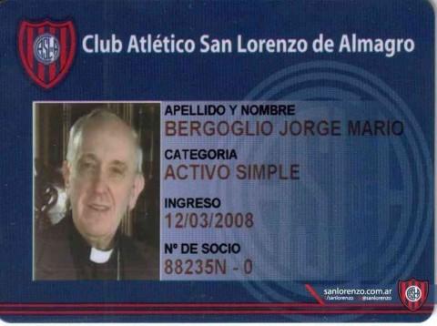 Ferenc pápa klubtagságija a San Lorenzóban