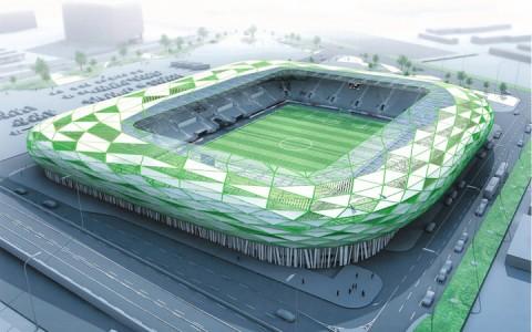 13,5 milliárd forintból épül az új Fradi stadion