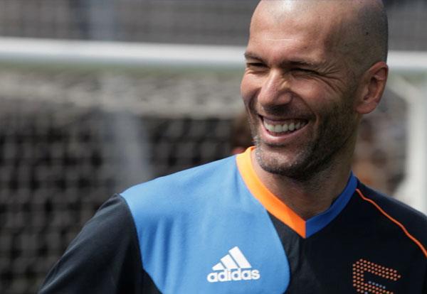 Focizz együtt Zidane-nal!