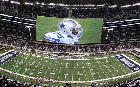 DallasCowboys stadion HDTV