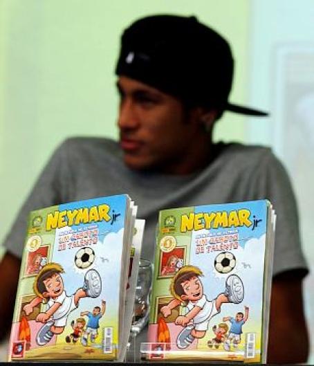 Neymar képregény