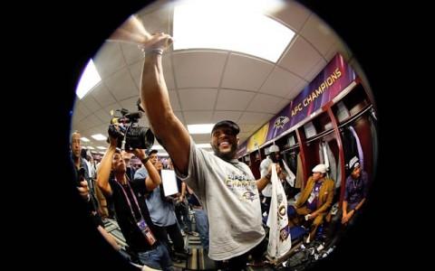NFL öltözői kamera