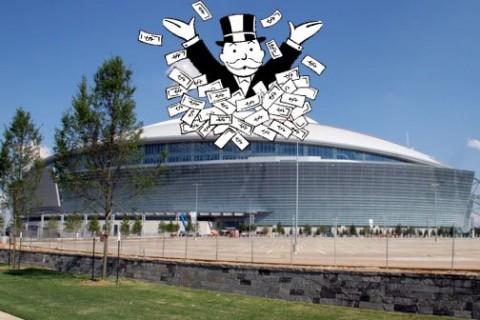 Stadionépítésre kidobott pénz
