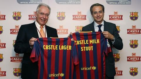 Barcelona Castle Lager és Castle Milk Stout