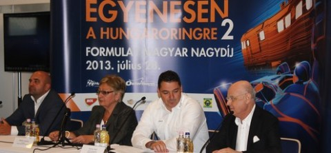 Egyenesen a Hungaroringre 2 sajtótájékoztató