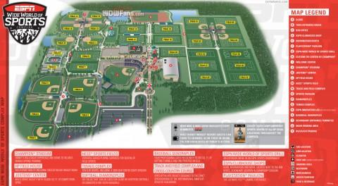 ESPN Wide World of Sports Complex térkép