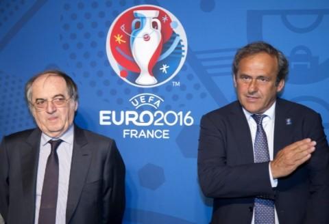 Michel Platini és Noel Le Graet