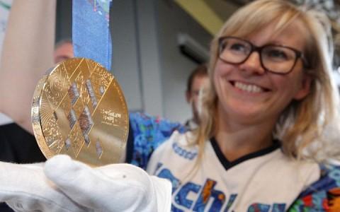 Szocsi olimpiai aranyérem