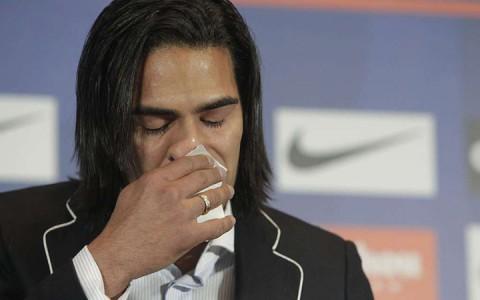 Falcao könnyekkel küszködve búcsúzik az Atletico Madridtól