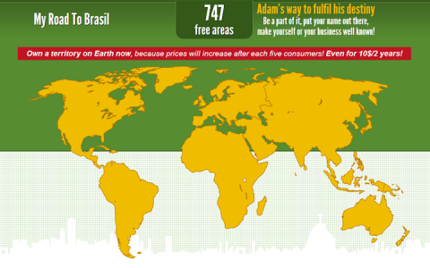 My Road To Brasil honlap