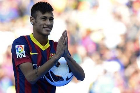 Neymar Barcelona mezben