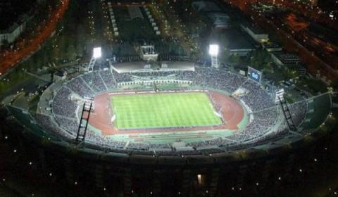 Légifelvétel a Puskás Stadionról