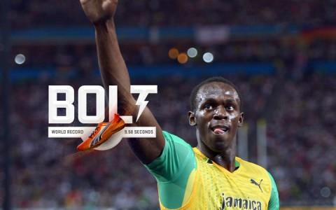 Usain Bolt 100 méteres világcsúcsa