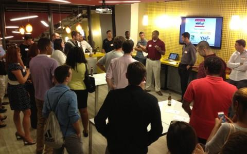 Washington DC Inaugural Sports Tech Meetup előadás
