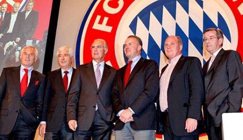 A Bayern München vezetői