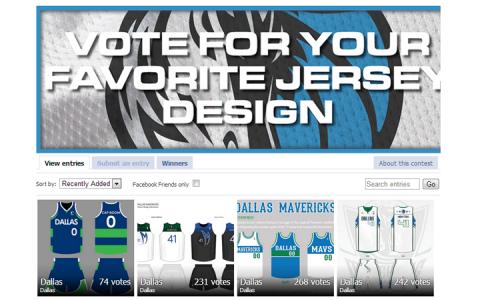 Dallas Mavericks szurkolói mez szavazás