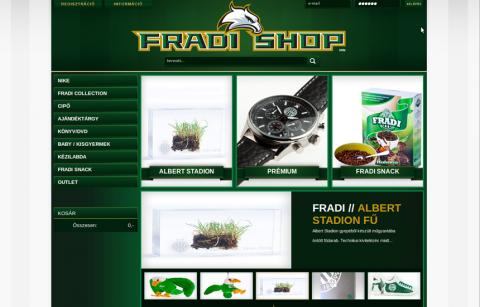 Fradi shop online