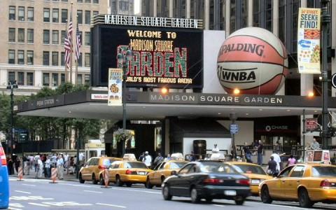Madison Square Garden bejárat