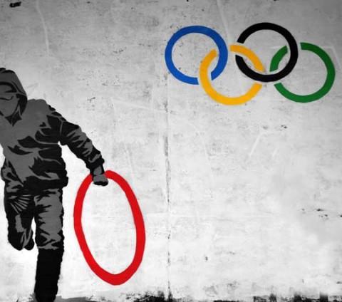 Olimpia grafiti