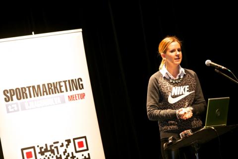 Márkus Anita, a Nike Magyarország PR vezetője