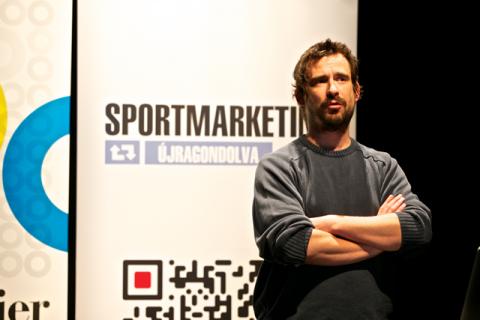 Dévényi Balázs, a Dynamo Budapest ügyvezető igazgatója